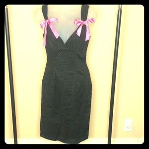 Betsey Johnson black dress
